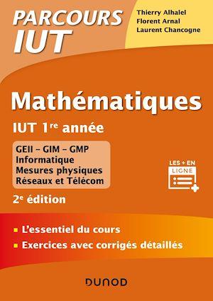 Téléchargez le livre :  Mathématiques IUT 1re année - 2e éd.