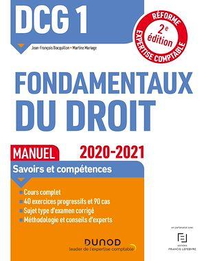 Téléchargez le livre :  DCG 1 Fondamentaux du droit - Manuel - 2020/2021