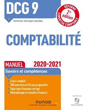 Téléchargez le livre :  DCG 9 Comptabilité - Manuel - 2020-2021