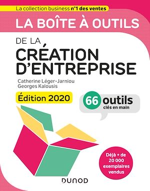 Téléchargez le livre :  La boîte à outils de la Création d'entreprise - Edition 2020
