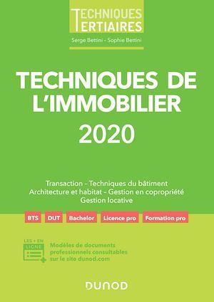 Téléchargez le livre :  Techniques de l'immobilier 2020