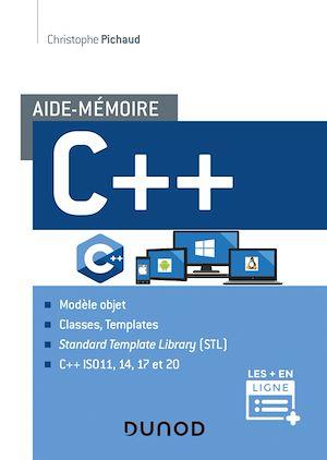 Téléchargez le livre :  Aide-mémoire C++