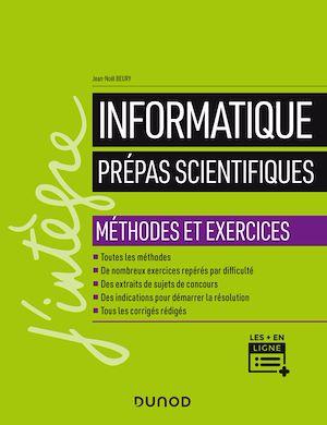 Téléchargez le livre :  Informatique - Prépas scientifiques - Méthodes et exercices