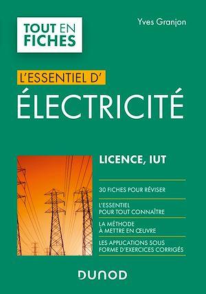 Téléchargez le livre :  Electricité - Licence, IUT