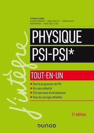 Téléchargez le livre :  Physique tout-en-un PSI-PSI* - 5e éd.