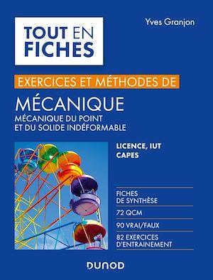 Téléchargez le livre :  Mécanique - Exercices et méthodes