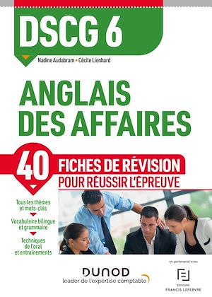 Téléchargez le livre :  DSCG 6 Anglais des affaires - Fiches de révision