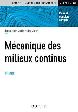 Téléchargez le livre :  Mécanique des milieux continus - 4e éd