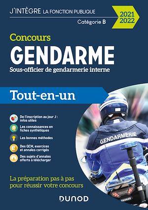 Téléchargez le livre :  Concours Sous-officier de gendarmerie interne - 2021-2022