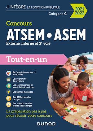 Téléchargez le livre :  Concours ATSEM ASEM - 2021-2022