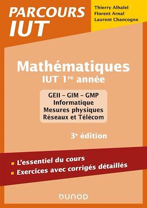 Téléchargez le livre :  Mathématiques IUT 1re année - 3e éd.