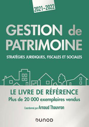 Téléchargez le livre :  Gestion de patrimoine - 2021-2022