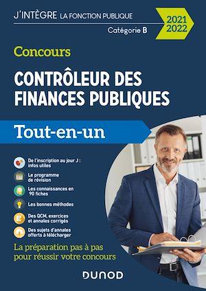 Téléchargez le livre :  Concours Contrôleur des finances publiques - 2021-2022