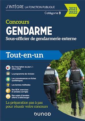 Téléchargez le livre :  Concours Gendarme - Sous-officier de gendarmerie externe - 2021/2022