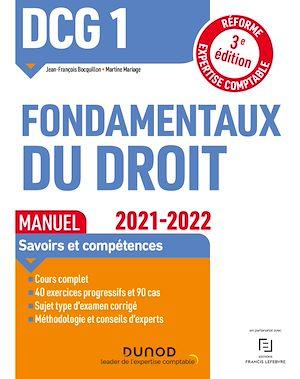 Téléchargez le livre :  DCG 1 Fondamentaux du droit - Manuel - 2021/2022