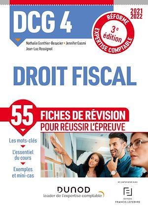 Téléchargez le livre :  DCG 4 Droit fiscal - Fiches de révision
