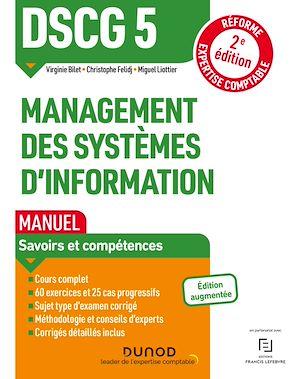 Téléchargez le livre :  DSCG 5 Management des systèmes d'information - Manuel - 2e éd.
