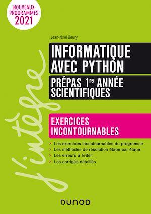 Téléchargez le livre :  Informatique avec Python - Prépas 1re année scientifiques