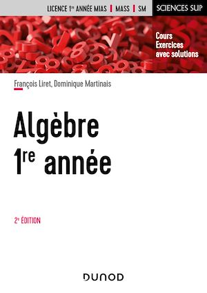Téléchargez le livre :  Algèbre -  1re année - 2e éd.