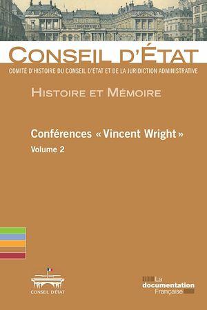 """Téléchargez le livre :  Conférences """"Vincent Wright"""""""