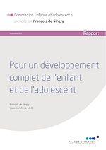 Télécharger le livre :  Pour un développement complet de l'enfant et de l'adolescent