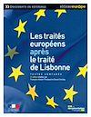Téléchargez le livre numérique:  Les traités européens après le traité de Lisbonne - 4e édition