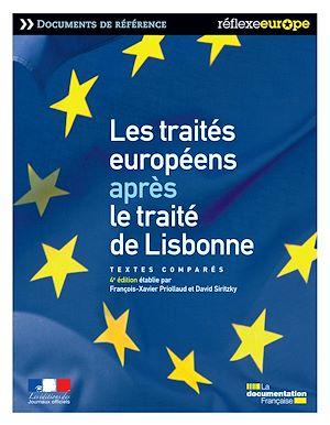 Téléchargez le livre :  Les traités européens après le traité de Lisbonne - 4e édition