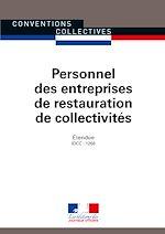 Télécharger le livre :  Personnel des entreprises de restauration de collectivités