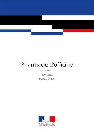 Téléchargez le livre :  Pharmacie d'officine