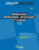 Télécharger le livre :  Rédacteur - Rédacteur principal 2e classe 2017. Concours