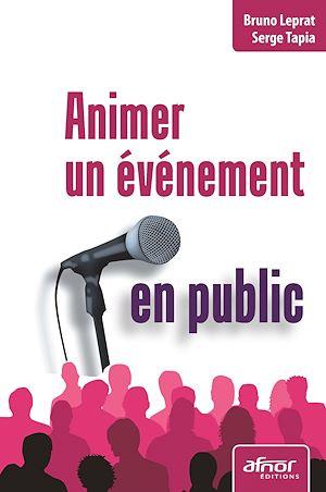 Téléchargez le livre :  Animer un événement en public