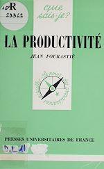 Télécharger le livre :  La Productivité