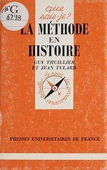 Télécharger cet ebook : La Méthode en histoire