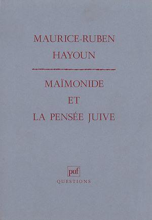 Téléchargez le livre :  Maïmonide et la pensée juive
