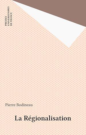 Téléchargez le livre :  La Régionalisation
