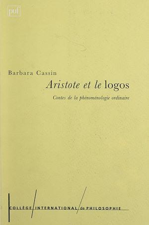 Téléchargez le livre :  Aristote et le logos