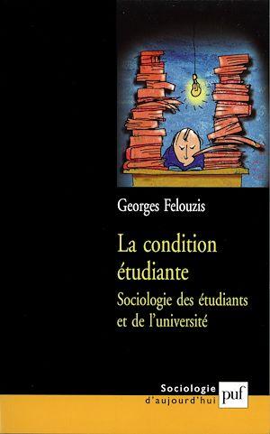 Téléchargez le livre :  La condition étudiante