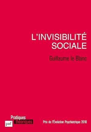 Téléchargez le livre :  L'invisibilité sociale