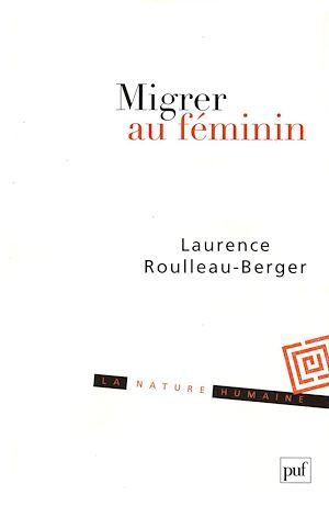 Téléchargez le livre :  Migrer au féminin