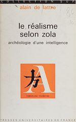 Télécharger le livre :  Le réalisme selon Zola