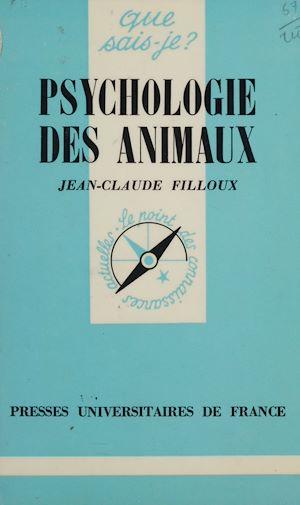 Téléchargez le livre :  Psychologie des animaux