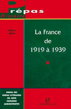 Téléchargez le livre :  La France de 1919 à 1939