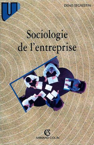 Téléchargez le livre :  Sociologie de l'entreprise