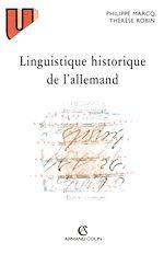 Télécharger le livre :  Linguistique historique de l'allemand