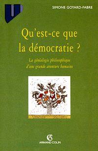 Qu'est-ce que la démocratie?