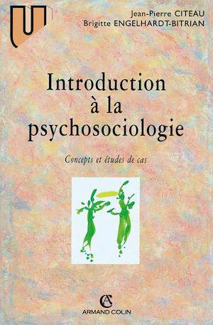 Téléchargez le livre :  Introduction à la psychosociologie