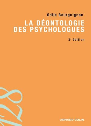 Téléchargez le livre :  La déontologie des psychologues