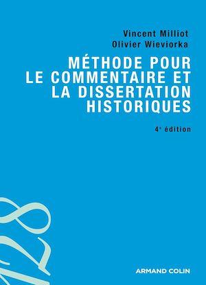 Téléchargez le livre :  Méthode pour le commentaire et la dissertation historiques