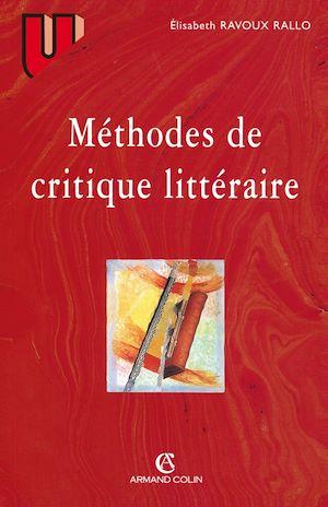 Téléchargez le livre :  Méthodes de critique littéraire