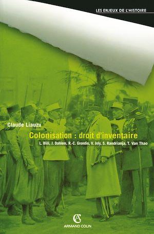 Téléchargez le livre :  Colonisation : droit d'inventaire